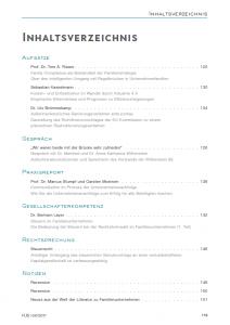 Inhaltsverzeichnis 1704